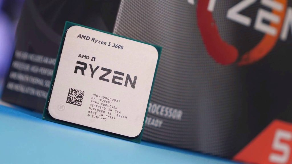 The AMD Ryzen 5 3600 Will Be the Latest Processor on the Market
